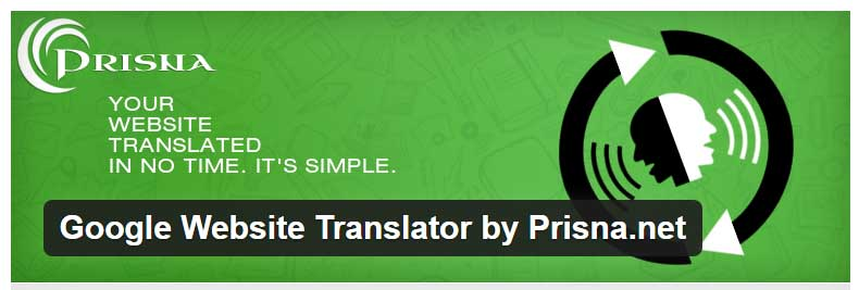 Wordpress traducción con Google Translate
