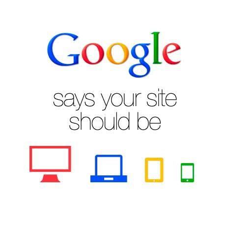 A google le gusta el diseño responsive o adaptativo